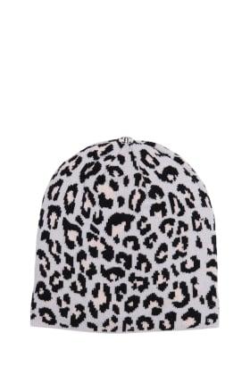 Leopard Hat Snow