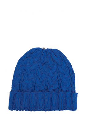 Charlie Cable Hat Sport Blue