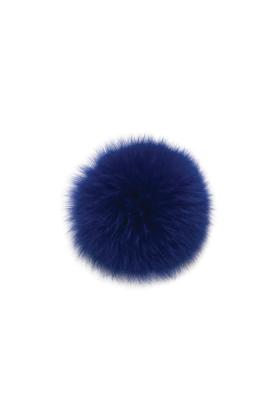 Fox Fur Pom Sport Blue