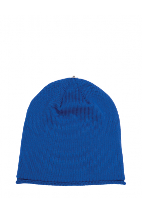 Glossy Hat Adult Sport Blue