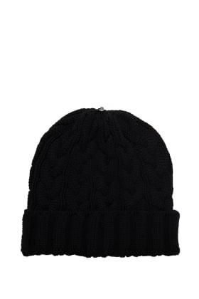 Charlie Cable Hat Black