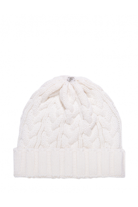 Charlie Cable Hat Ivory
