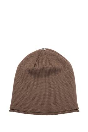 Glossy Hat Adult Latte