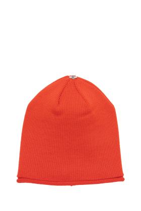 Glossy Hat Adult Puffin Orange