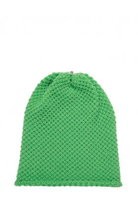 Waffle Hat Electric Green