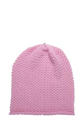 Waffle Hat Pink Mauve