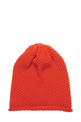 Waffle Hat Puffin Orange