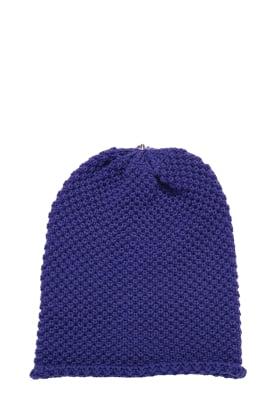 Waffle Hat Royal Purple