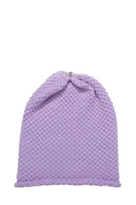 Waffle Hat Velvet Violet