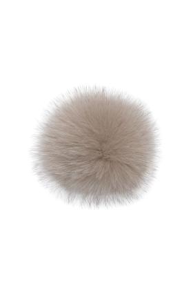 Fox Fur Pom Truffle