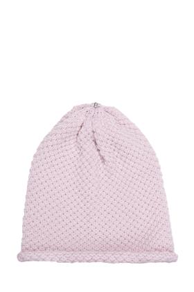 Waffle Hat Petal Pink