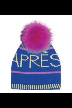 Sport Pink Raccoon Pom Hat