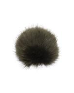 Faux Fox Fur Pom Army