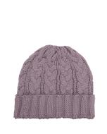 Lindo-F-Mauve-Cable-Merino-Wool-Toque-Beanie-Hat