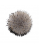 Raccoon Pom Mid Grey