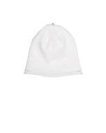 Glossy Hat Newborn Ivory