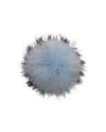 Raccoon Pom Sky Blue