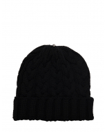 Charlie Cable Hat Black