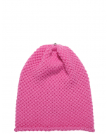 Waffle Hat Poker Pink