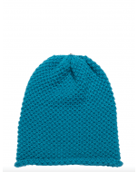 Waffle Hat Rich Turquoise