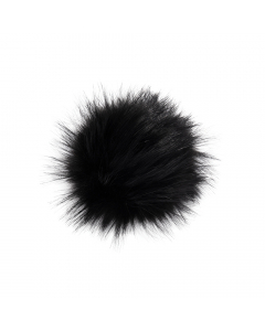 Faux Raccoon Fur Pom