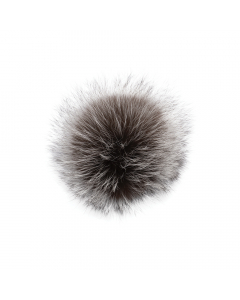 Silver Fox Pom Natural
