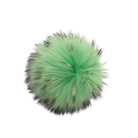 Large Electric Green Pom Pom