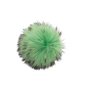 Medium Electric Green Pom Pom