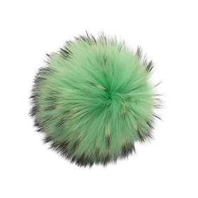 Extra Large Electric Green Pom Pom