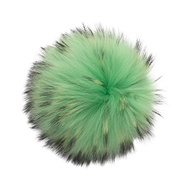 Extra Extra Large Electric Green Pom Pom