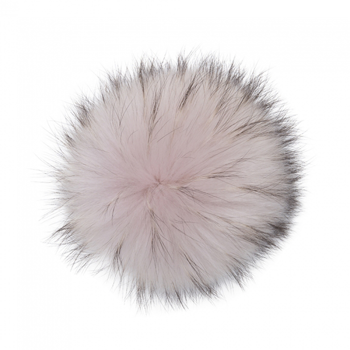 Extra Large Pink Dust Raccoon Pom Pom