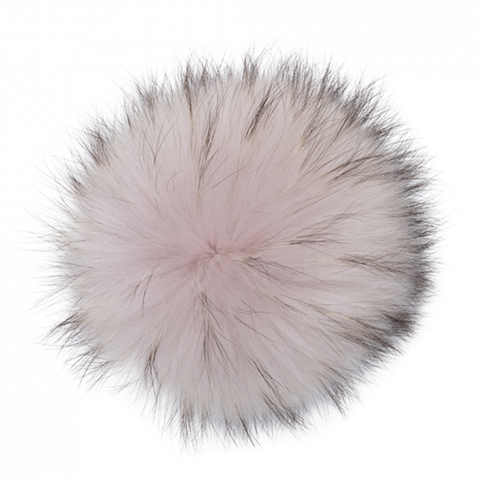 Extra Extra Large Pink Dust Raccoon Pom Pom